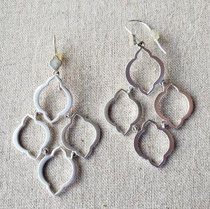 Stella & Dot Arabesque earrings